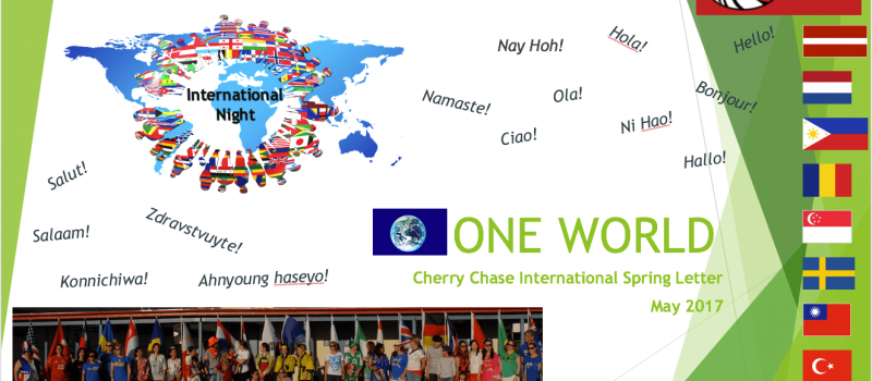 One World Newsletter 2017